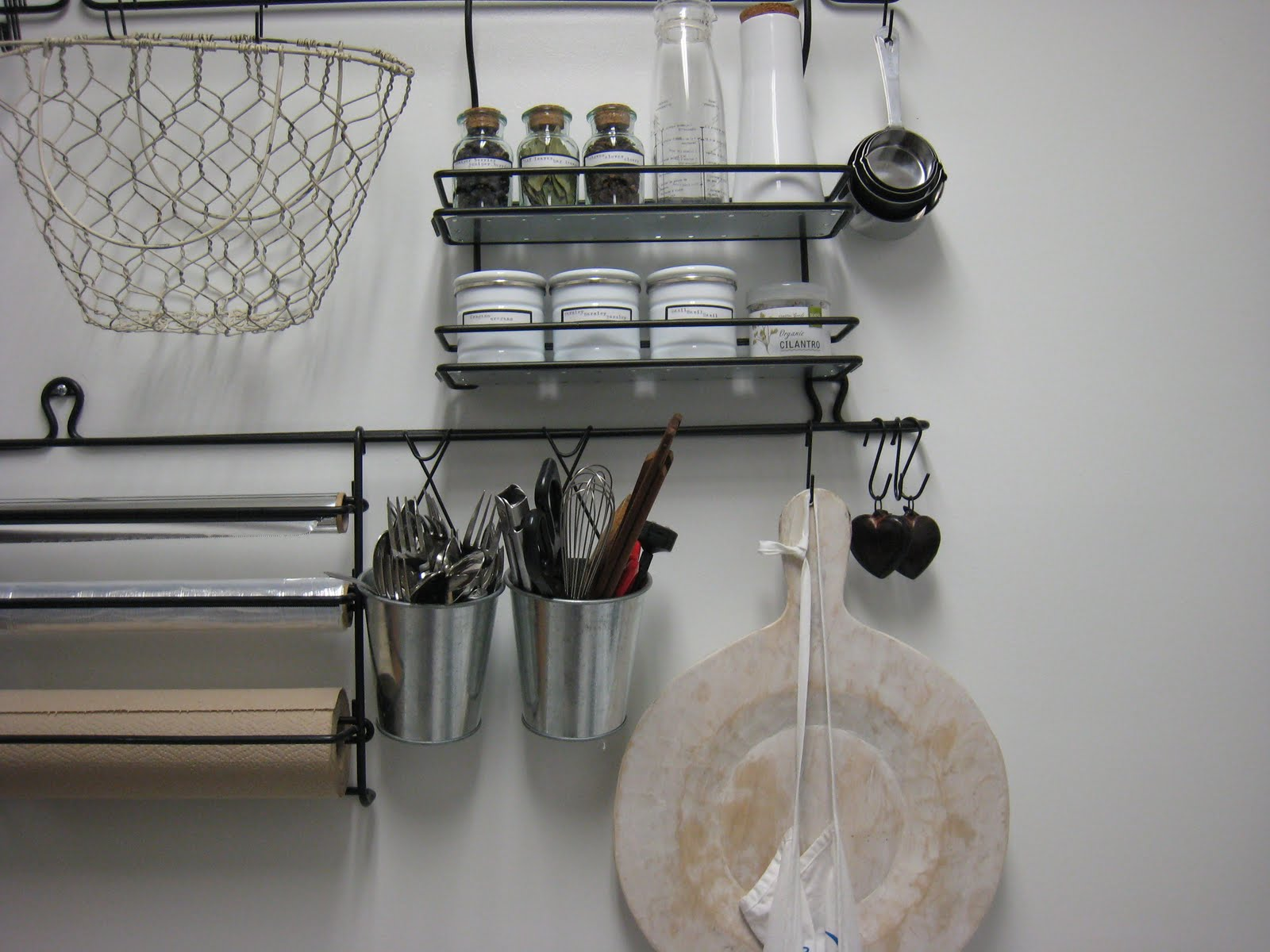 Kitchen Wall Organizers. Kitchen Wall Organizers Or Rail Systems ...